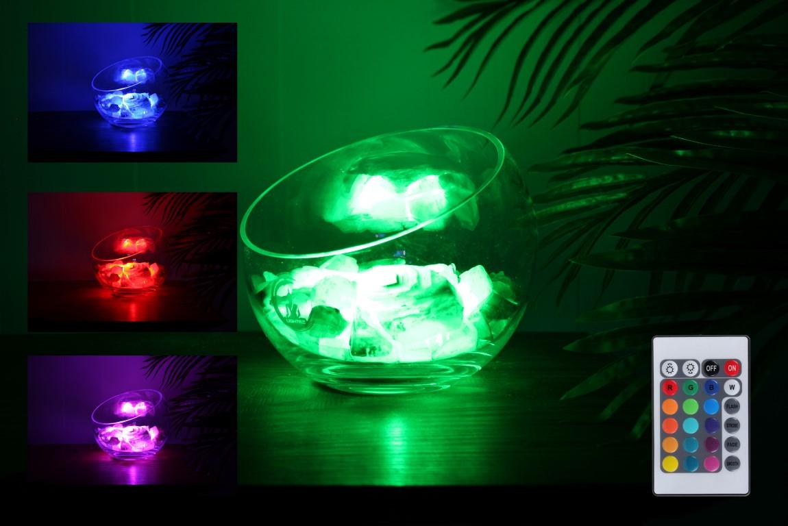 groene calciet lamp spirit rgb